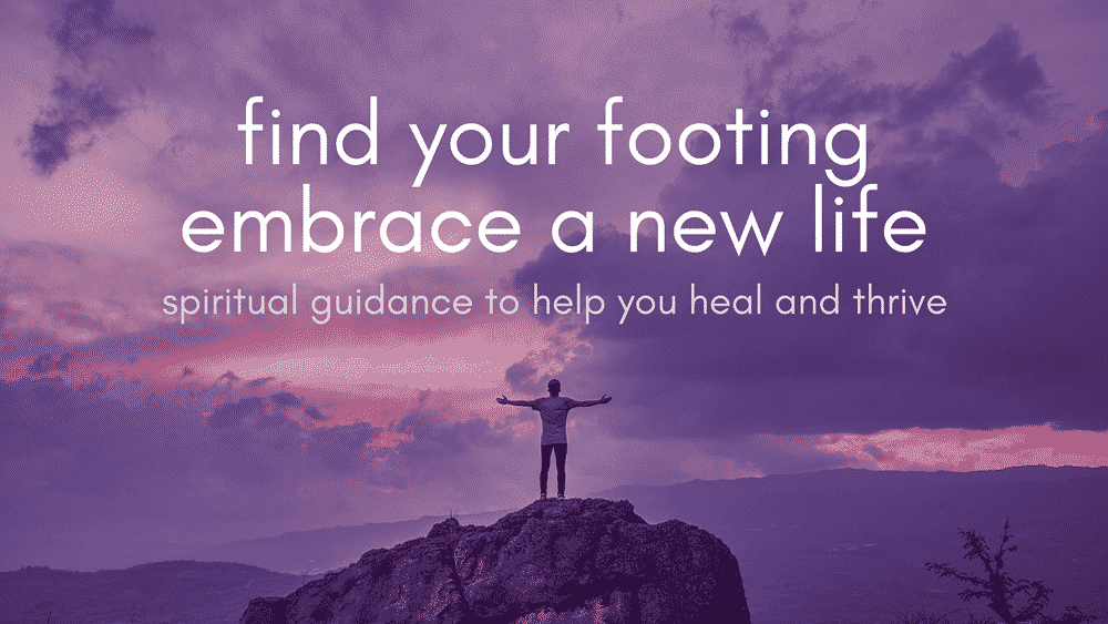 find your footing (heal and thrive) NEW PURPLE